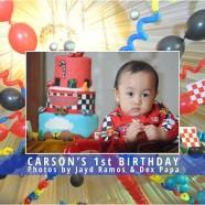 Carson's 1st Birthday Photobook