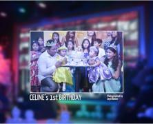 Celine's 1st Birthday